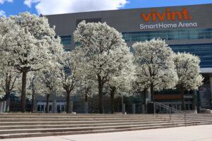 Vivint Smart Home Arena in Salt Lake City, Utah