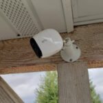 Wireless security cameras can be placed outdoors or indoors